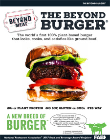 Beyond Meat Beyond Burger 1
