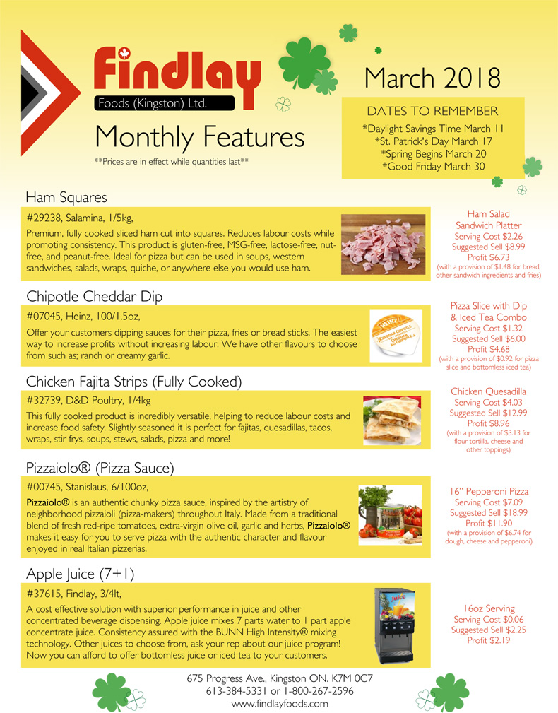 March Monthly Feature no price mar18 1