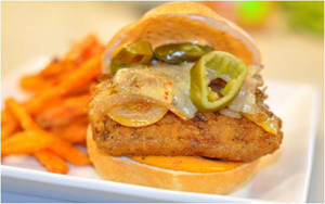 Findlay Foods Foodservice Recipe - Angry Fish Burger