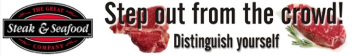 Great Steak and Seafood Banner 1