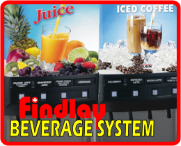 Findlay Beverage System Square
