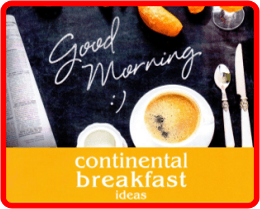 Breakfast Ideas Flyer