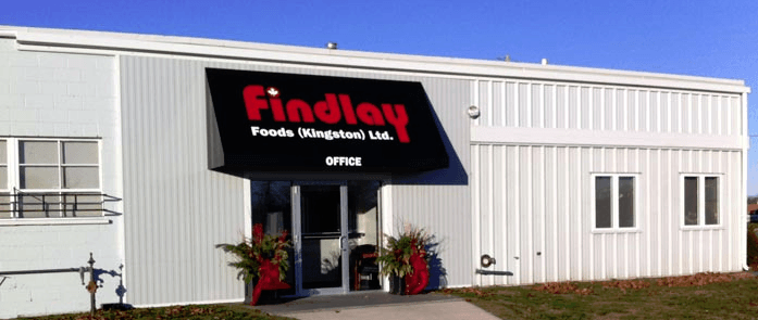 New Offices of Findlay Foods - Findlay Foods is Eastern Ontario's leading Foodservice Distributor