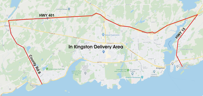 kingston retail territory