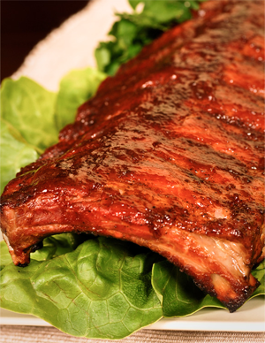 Findlay Foods Foodservice Recipes - 40 Creek BBQ  Pork Side Ribs