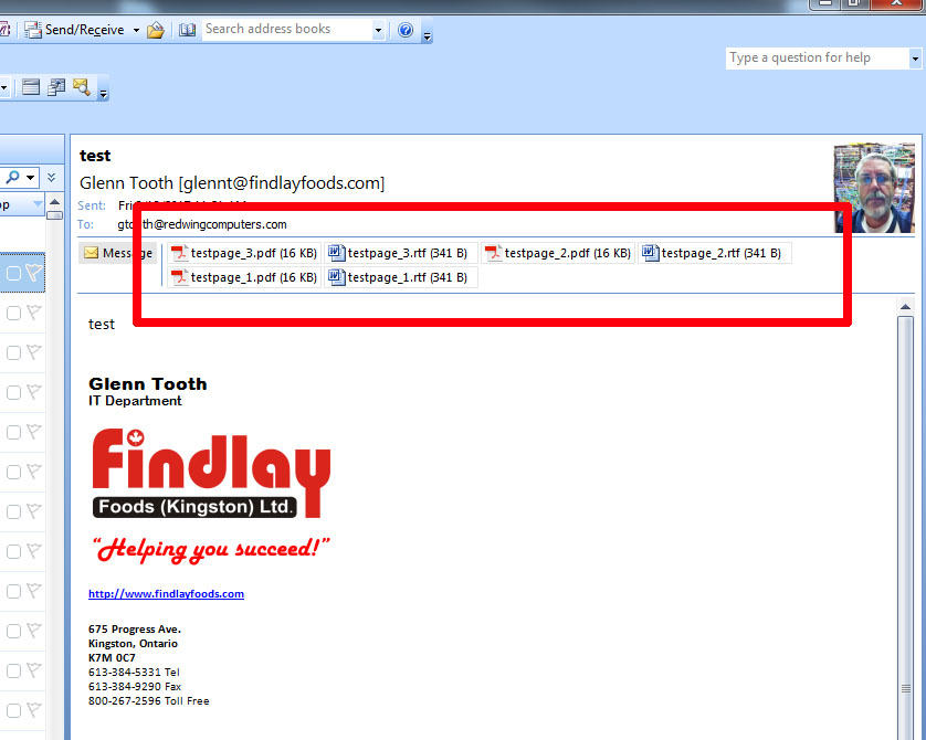 printing multiple attachments from outlook 2007 rh findlayfoods com