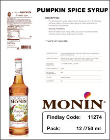 what new monin pumpkin thumb